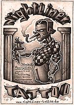 Poster Pinoccio Nightliner Tattoo Berlin